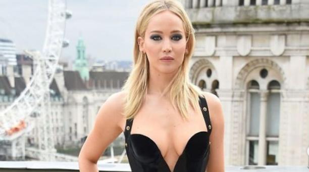 La actriz Jennifer Lawrence sufrió un accidente durante el rodaje de 'Don't Look Up'. Foto: Instagram