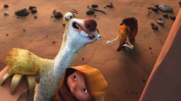 La primera entrega de 'Ice Age' se estrenó en 2002 y después llegaron cuatro secuelas