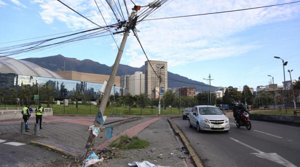 La mañana de hoy, los agentes de la AMT cerraron el paso en sentido sur - norte por seguridad, a la altura del hotel Tambo Real.