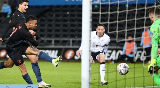 El Manchester City avanzó de ronda en el torneo sin problemas este miércoles 10 de febrero. Tomado de Manchester City