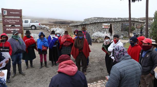 Comunidades indígenas piden la administración de la Reserva Natural Chimborazo