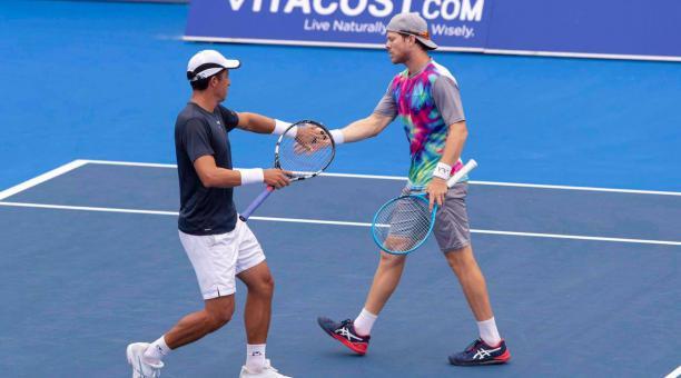 La dupla sudamericana participó en el Australia Open. Tomado de redes sociales