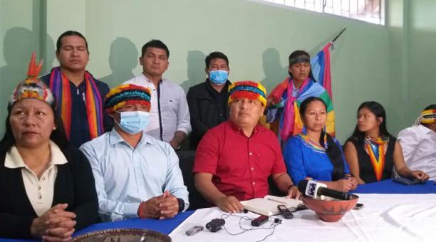 Los dirigentes de la Confeniae se pronunciaron sobre las elecciones generales en el país. Foto: cortesía