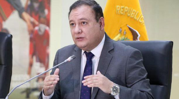 Juan Zapata, Director General del ECU 911, hizo un llamado a la ciudadanía para que se use correctamente el 911. Foto: Tomada de la cuenta Twitter ECU 911