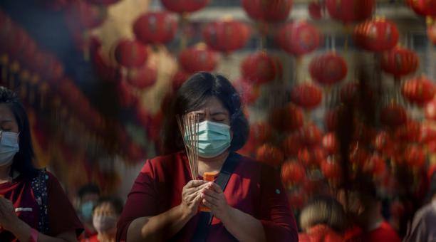 Este 12 de febrero del 2021 se celebra el inicio del Año Nuevo Chino. Foto: EFE.
