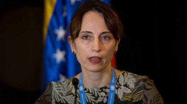 El exhorto lo hizo la relatora especial de la ONU sobre el impacto negativo de las medidas coercitivas unilaterales en el disfrute de los derechos humanos, Alena Douhan. Foto: EFE