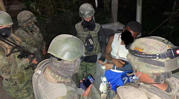 La operación militar estuvo a cargo de efectivos del Grupo de Fuerzas Especiales N.° 53 Rayo y el Batallón de Selva N.° 56 Tungurahua. Foto: Facebook Ejército