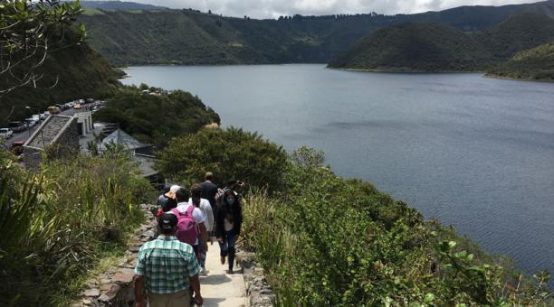 Los viajeros visitaron las reservas naturales del país, durante el feriado de Carnaval. Foto: José Luis Rosales/ EL COMERCIO
