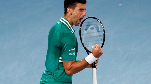 El serbio Novak Djokovic jugará las semifinales del Australian Open por 39va ocasión. Foto: Australian Open
