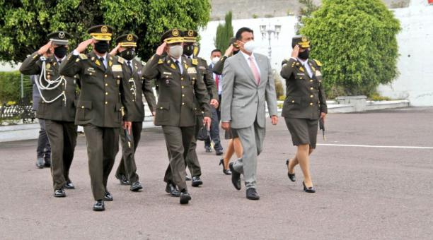 El ministro de Gobierno, Patricio Pazmiño, se refirió a las marchas que han sido convocadas por el movimiento indígena para pedir el recuento de votos al CNE. Foto: Twitter Patricio Pazmiño