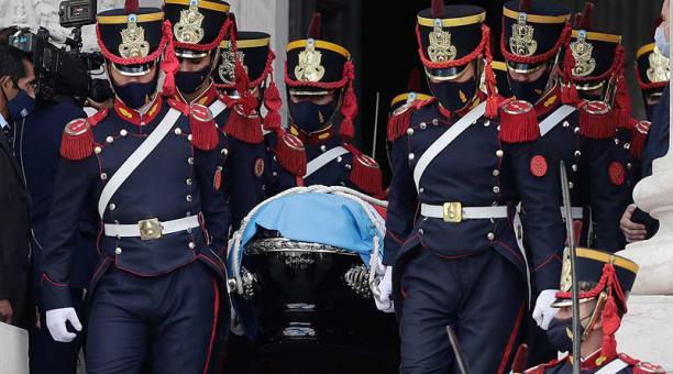 El expresidente Carlos Menem falleció el pasado 14 de febrero del 2021 en Buenos Aires, Argentina. Foto: EFE