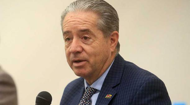 El ministro de Salud, Juan Carlos Zevallos, no ha hablado en público sobre el proceso de vacunación desde el 27 de enero del 2021. Foto: archivo / EL COMERCIO