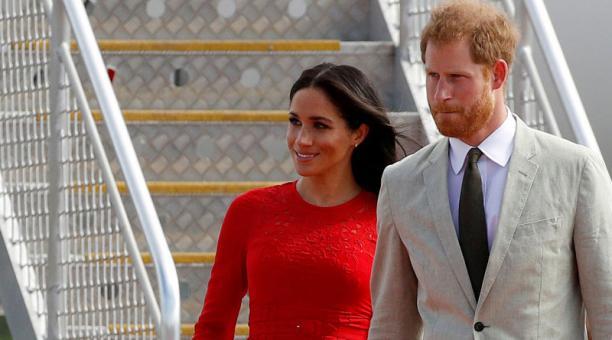 Los duques de Sussex decidieron que no volverán a ser parte de la familia real británica. Foto: Reuters