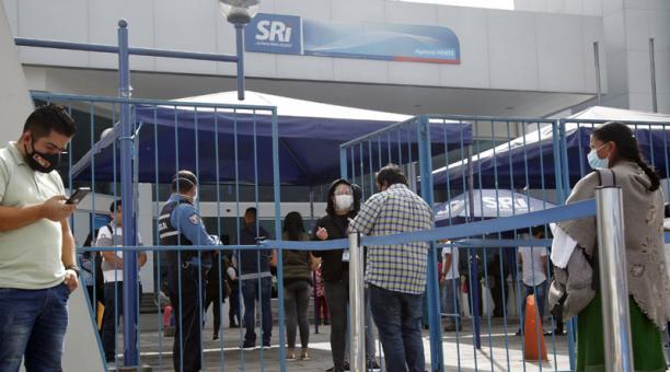 El SRI se pronunció sobre los pagos de la contribución temporal para empresas cerradas en el 2020. Foto: Archivo/ EL COMERCIO