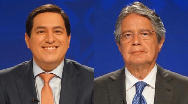 El Consejo Nacional Electoral informa que Andrés Arauz y Guillermo Lasso pasan a segunda vuelta electoral, tras la proclamación de resultados este 21 de febrero del 2021. Fotos: Flickr CNE