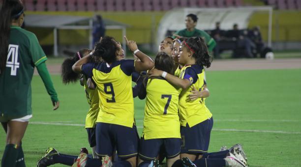 La Selección de Ecuador goleó 3-0 a Bolivia en un amistoso jugado en el estadio Olímpico Atahualoa. Tomado de la Tri