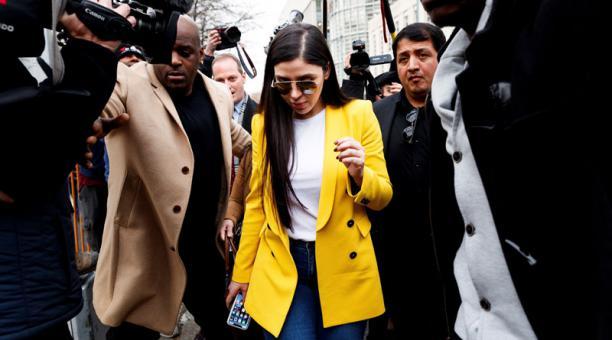 Emma Coronel, la esposa del Chapo Guzmán, fue detenida este 22 de febrero del 2021 acusada de estar implicada en narcotráfico internacional. Foto: EFE.