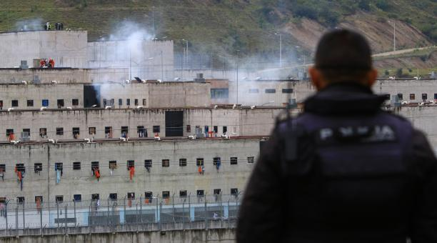 Un amotinamiento se registró en la Cárcel de Turi en Cuenca