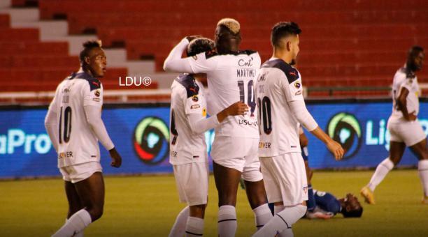 Liga de Quito ganó su primer partido del torneo nacional y es uno de los líderes de la competencia. Foto: LDU
