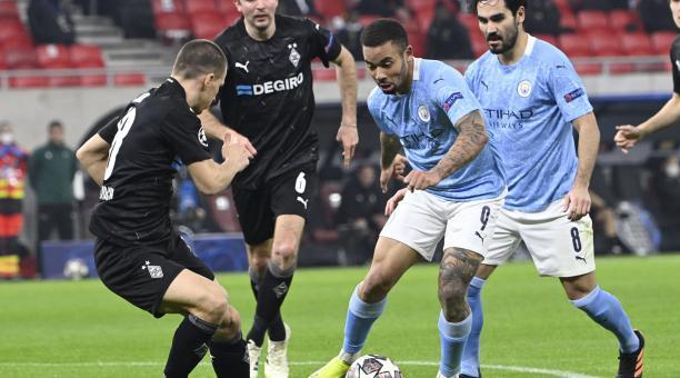 Gabriel Jesús fue una de las figuras en la victoria del Manchester City. Foto: EFE