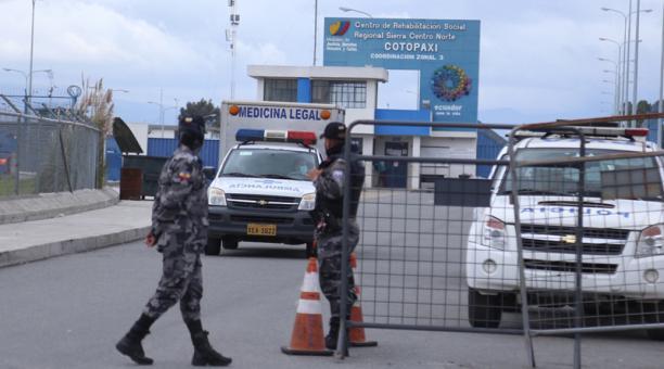 La violencia se registró en cuatro centros penitenciarios del Ecuador. Al menos 79 privados de libertad perdieron la vida el martes 23 de febrero del 2021. Foto: Glenda Goacometti / EL COMERCIO