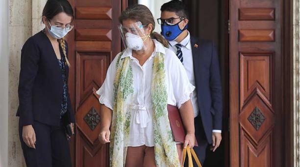 El Gobierno de Nicolás Maduro ordenó el 24 de febrero la expulsión de la embajadora de la Unión Europea en Venezuela, Isabel Brilanthe. Foto: archivo / Reuters