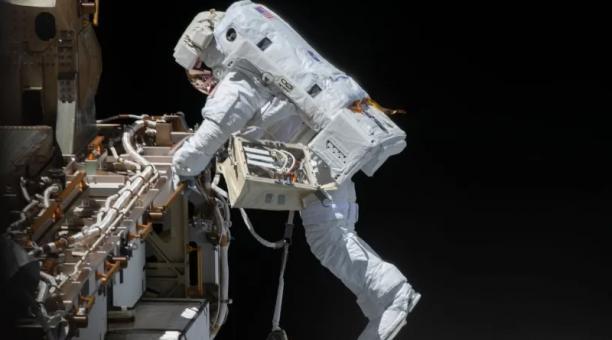 Todo está listo para caminata dominical en la Estación Espacial Internacional. Foto: Nasa