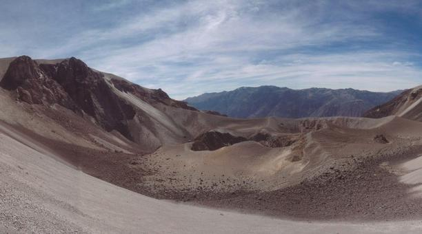 El Huaynaputina, cuyo nombre en quechua significa