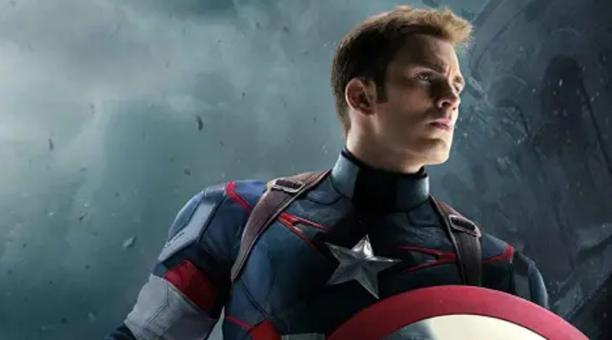 El actor estadounidense Chris Evans, que ha interpretado al Capitán América desde 2011. Foto: Marvel