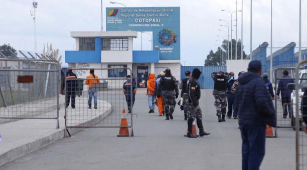 Este 1 de marzo del 2021 se registró un nuevo amotinamiento en la cárcel de Cotopaxi. Foto: Glenda Giacometti/ EL COMERCIO.