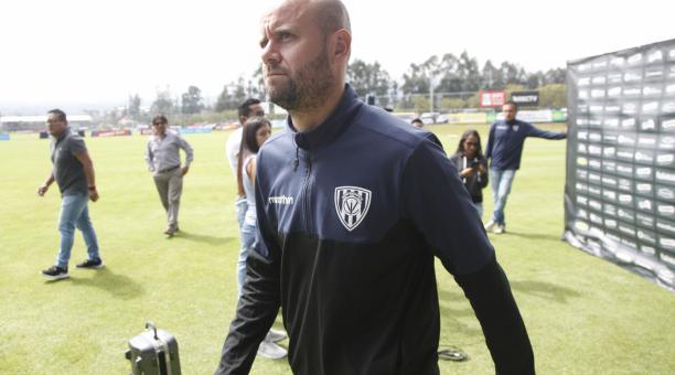 Miguel Ángel Ramírez se desvinculó de Independiente del Valle, en el 2020, para sumarse al Internacional brasileño. Foto: Archivo El Comercio