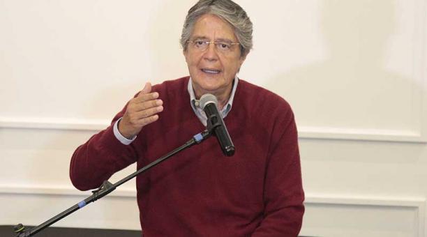 Uno de los temas que abordó el candidato a la presidencia Guillermo Lasso fue el sanitario. Foto: archivo / EL COMERCIO