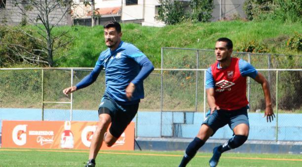 Un entrenamiento de la Universidad Católica en el complejo La Armenia, previo al partido con Liverpool. Tomado de la U. Católica