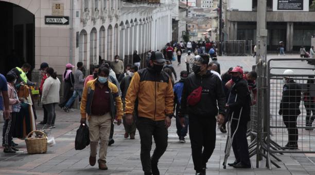 El informe fue presentado este 2 de marzo del 2021 en Quito. Foto: Galo Paguay/ EL COMERCIO.