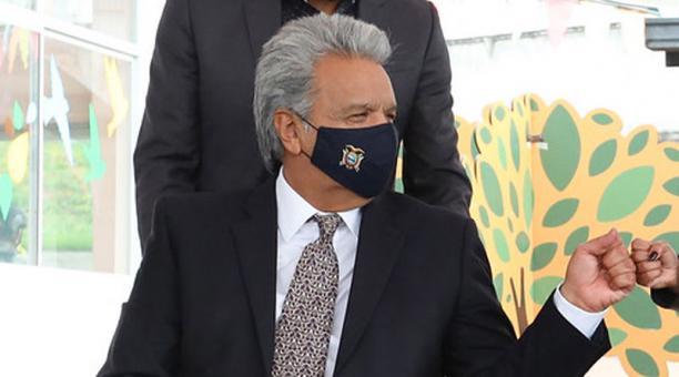 El presidente Lenín Moreno solicitó su desafiliación del movimiento Alianza País. Foto: Flickr/ Presidencia de la República del Ecuador.