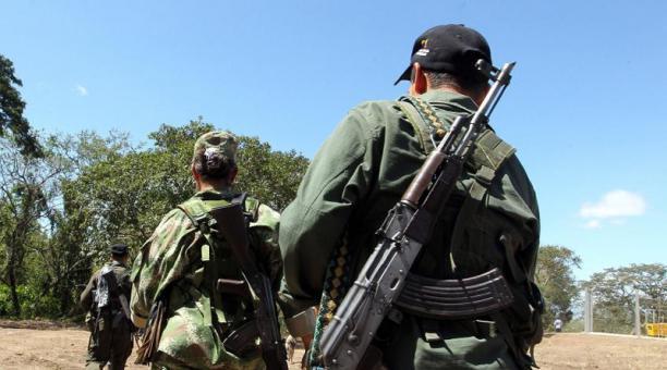 Tras el combate, hubo tres disidentes capturados. Foto: Archivo  EFE