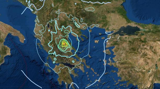 Un fuerte terremoto se registró este 3 de marzo del 2021 en Grecia. Foto: Twitter/ @mondoterremoti