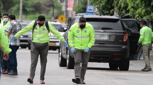 Efraín Ruales fue asesinato el pasado 27 de enero del 2021 en Guayaquil. Agentes de la Policía investigan desde ese entonces los indicios hallados en el lugar del crimen. Foto: Archivo / EL COMERCIO