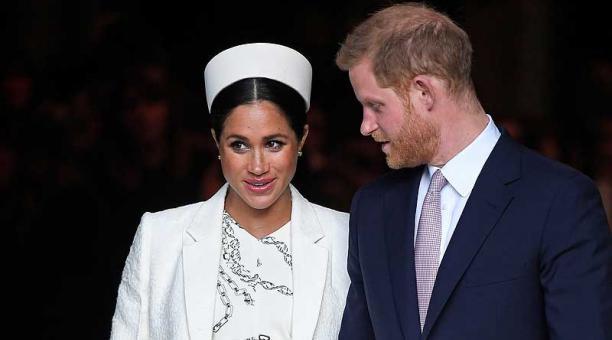 El reporte se publica días antes de la transmisión de una entrevista que Meghan y el príncipe Harry, le dieron Oprah Winfrey. Foto: archivo / Reuters