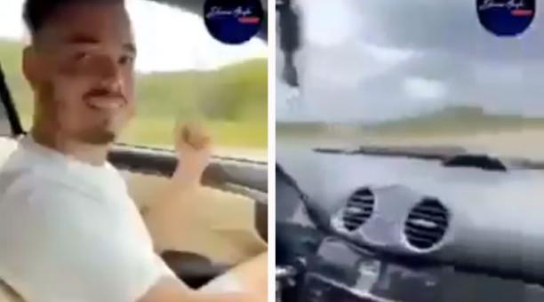 El video en el que Sandro Castro, nieto del fallecido Fidel Castro, conduce un auto de lujo ha generado críticas en Cuba por la precaria situación en la que viven los isleños. Foto: Captura de pantalla