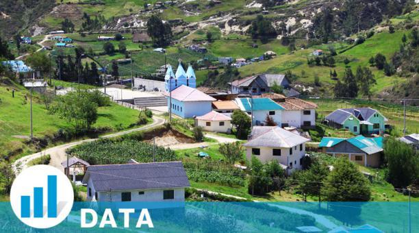 La comunidad Shiñapamba, en el sur de Azuay, tiene 72 habitantes. Foto: Lineida Castillo / EL COMERCIO