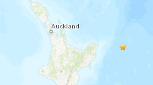 Un terremoto de 7,3 grados se registró este 4 de marzo del 2021 en Nueva Zelanda y generó una alerta de tsunami. Foto: Twitter/@InformeSismico.