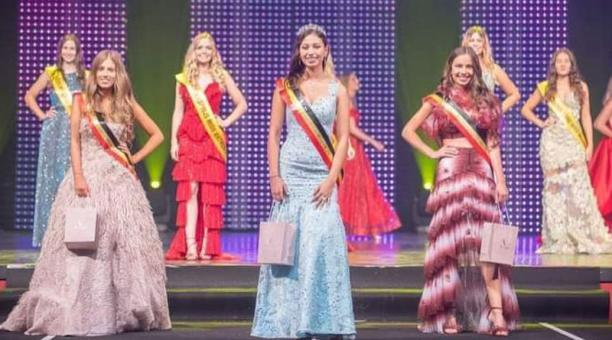 Verónique Michielsen se convirtió en una de las 33 finalistas del concurso de belleza Miss Bélgica. Foto: Cortesía