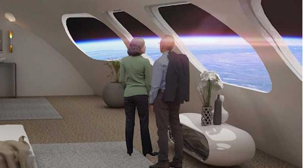 El Hotel Voyager incluirá habitaciones para hasta 400 huéspedes. Foto: captura
