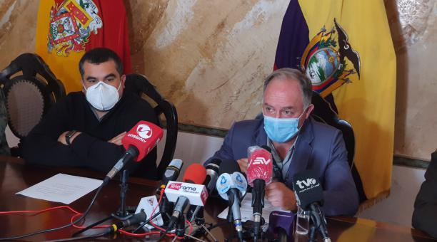 Rómulo Montalvo recibió de la Policía, el pasado jueves, el control y manejo del CRS Turi tras la masacre de 34 reos.