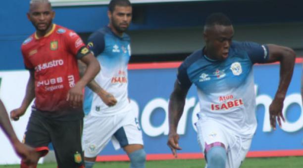 Manta FC y Deportivo Cuenca se enfrentaron por la tercera fecha del campeonato ecuatoriano. Foto: @MantaFutbolClub