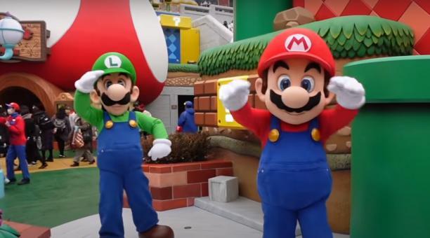 Aunque ha sufrido la postergación de su apertura por la pandemia, el parque temático Super Mario Bros atenderá al público desde el próximo 1 de marzo del 2021. Foto: Captura de pantalla
