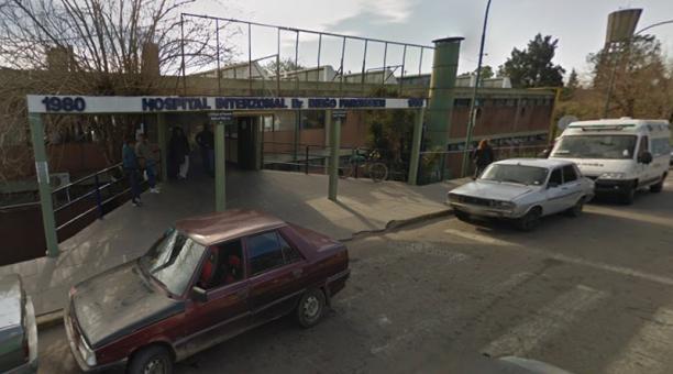 La bebé se recupera en un hospital de San Martín, en la provincia de Buenos Aires. Foto: Captura Google Street View