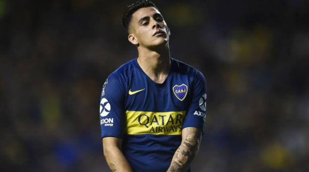 El argentino Cristian pavón, durante su paso por Boca Juniors. Foto: Twitter