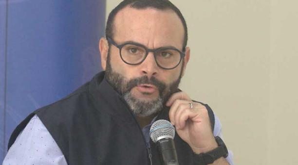 Jorge Wated presidía el Consejo Directivo del Instituto Ecuatoriano de Seguridad Social (IESS). Foto: archivo / EL COMERCIO